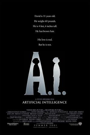 2001 A.I: Artificial Intelligence movie poster