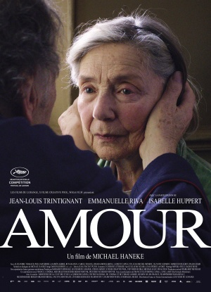 2012 Amour movie poster