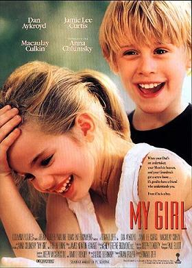1991 My girl movie poster