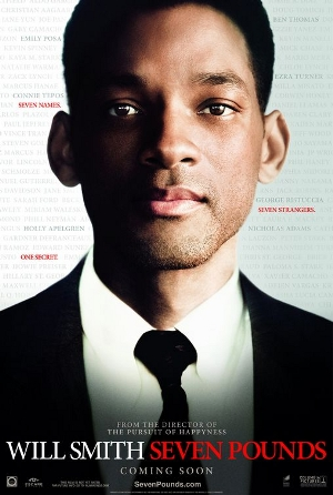 2008 Seven pounds movie poster